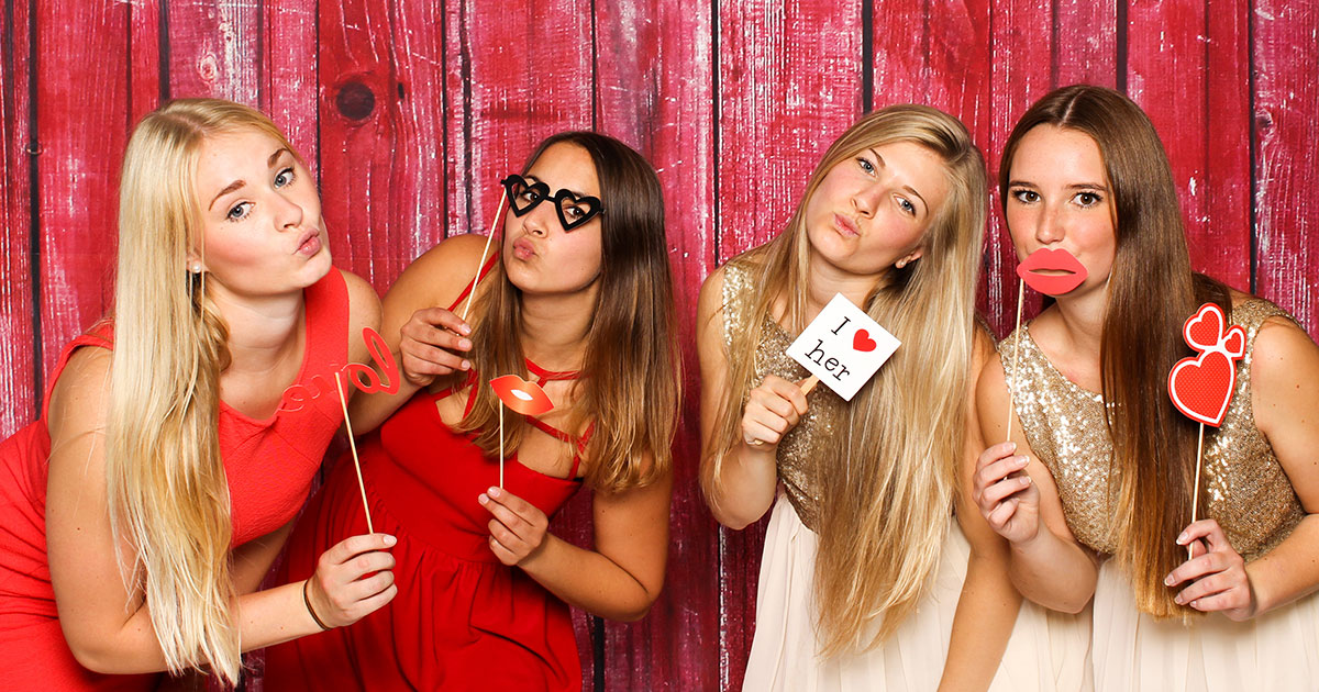 A Photo Booth is a Must Have for Your Wedding Reception