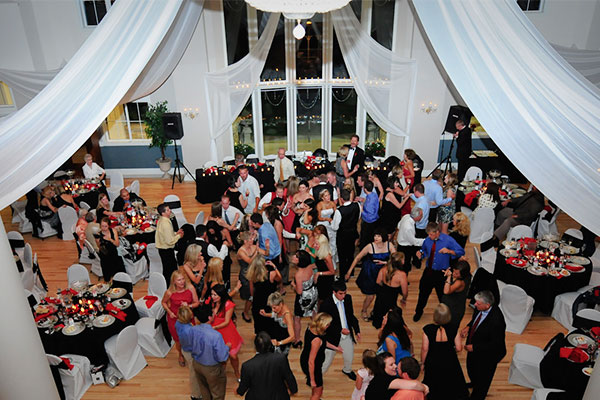 People Dancing at Wedding Reception in Buffalo, New York
