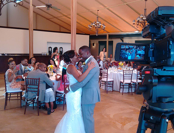 Video of First Dance at Wedding