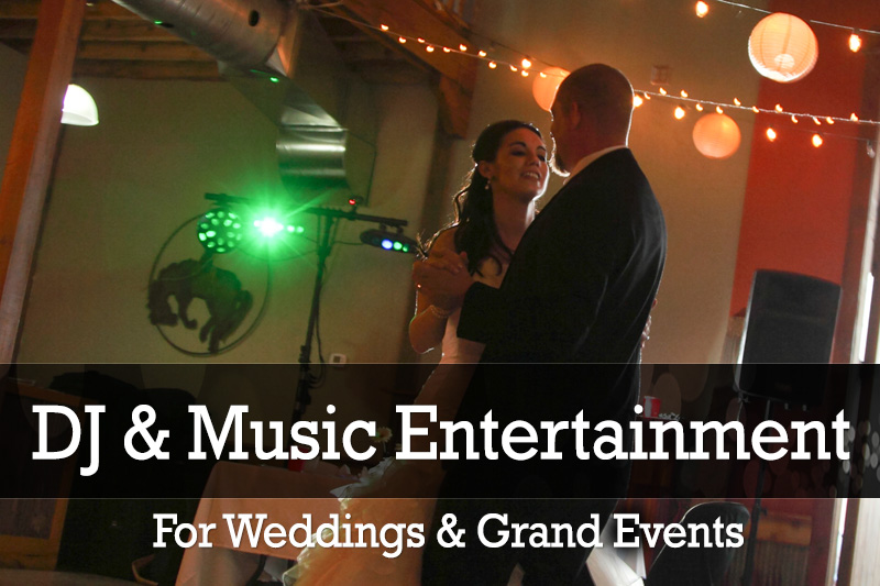 Wedding DJ Package Pricing and Booking