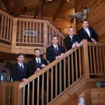 james-emily-reception-groomsmen-stairs