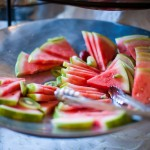 wedding-reception-watermelon-plate